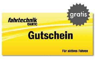 Fahrsicherheitstraining Gutschein Öamtc